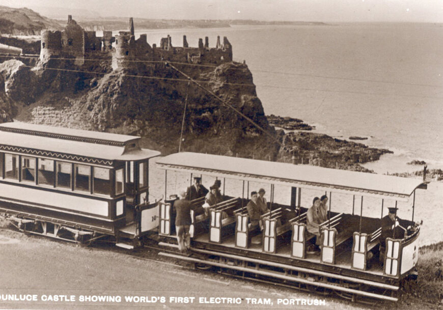 Electric tramway Portrush 1881
